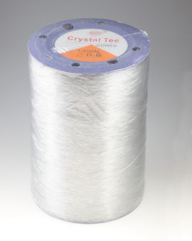 Lycra 0.6 clear large roll
