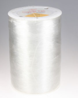 strech lycra clear 0.5mm 1000 meters spool