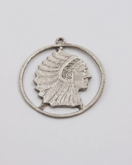 Indian Chief Medaillon