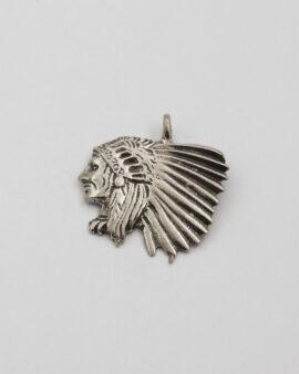 Indian head pendant