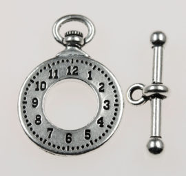 Clasp Set, Clock & bar