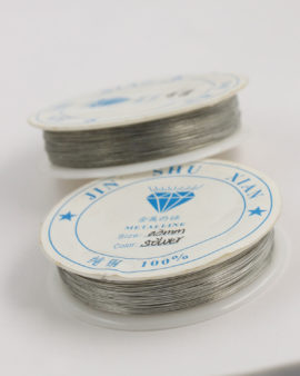 Plated Copper Wire 0.38 mm Silver