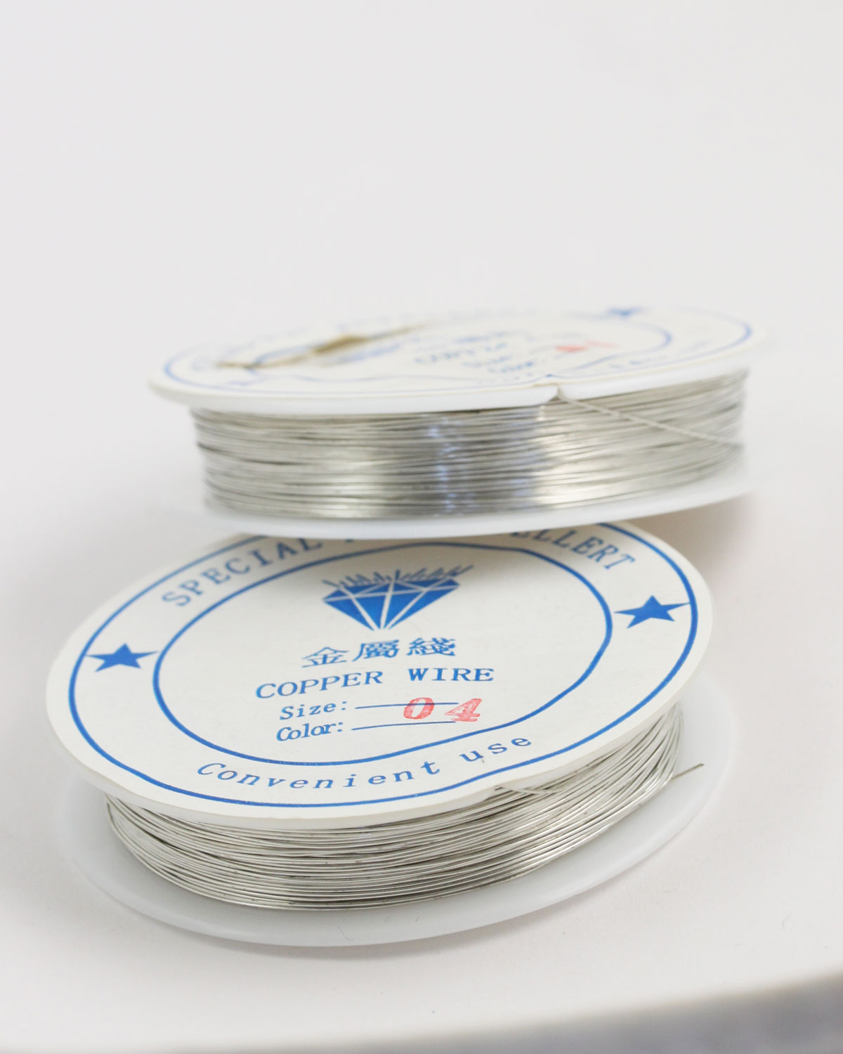 Plated Copper Wire 0.40 mm Silver