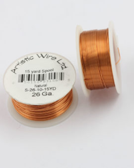 artistic wire 26 gauge non tarnish copper