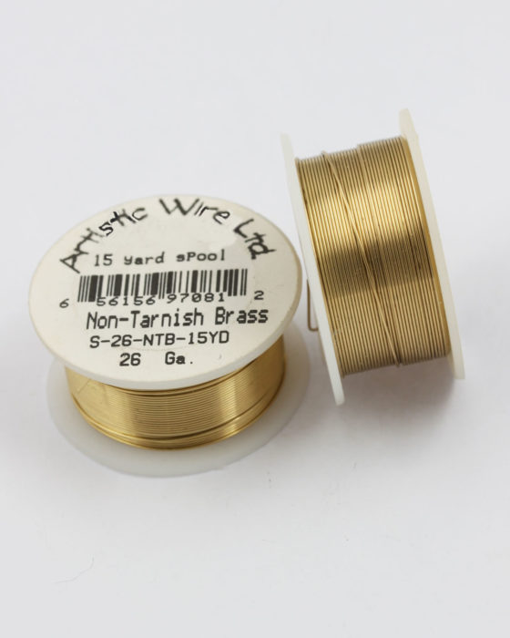 artistic wire 26 gauge gold