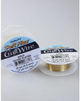 Craft wire 26 gauge gold