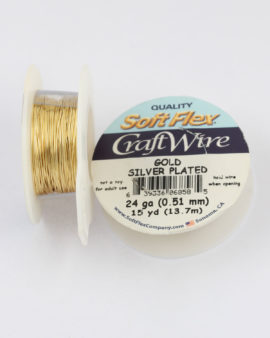 artistic wire 24 gauge gold
