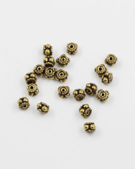 bubbles spacer antique gold