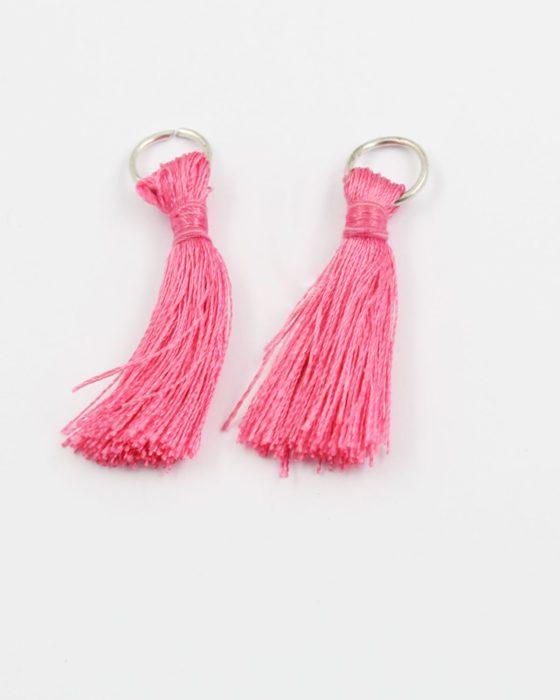 cotton tassel pink 3.9cm
