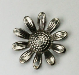 Flower pendant - Sold in pack of 10 pieces