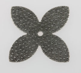 Star shape texture sheet metal - Sold in pack of 10 pieces