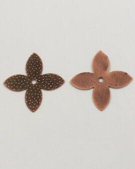 star shape 34mm antique copper