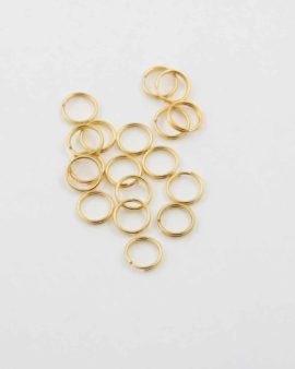 Split ring 8mm gold