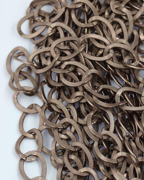 aluminium chain antique copper