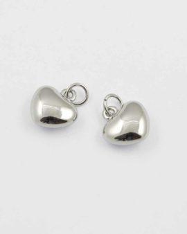 heart charm 16x17mm