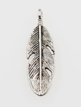 Feather charm - Sold per pack of 20 pieces