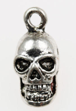 Skull charm - Sold in packs of 20 pieces