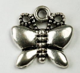 Butterfly charm - Sold in packs of 20 pieces (1=20 pieces)