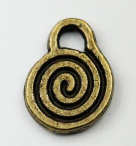 Key charm - Sold in packs of 20 pieces