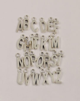 Alphabet Charms 17mm