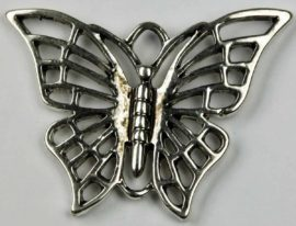 Butterfly Pendant - Sold in packs of 10 ( 1=10 pieces )