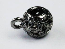 Round filigree bail - Sold per packs of 10 (1=10 pieces )