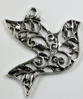 Dove Pendant - Sold per pack of 10