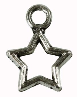 Outline Star Charm