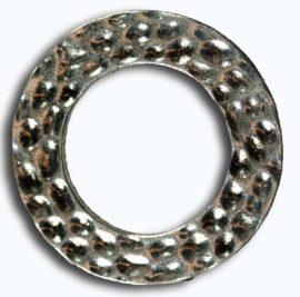 27 mm Metal ring - Sold per pack of 10 rings