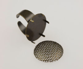 Round ring & mesh - Adjustable size