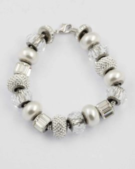 swarovski bracelet with paves