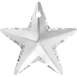swarovski star pendant crystal 28mm