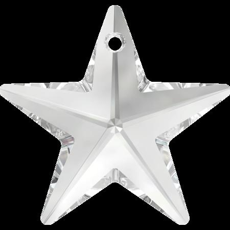 swarovski star pendant crystal 28mm